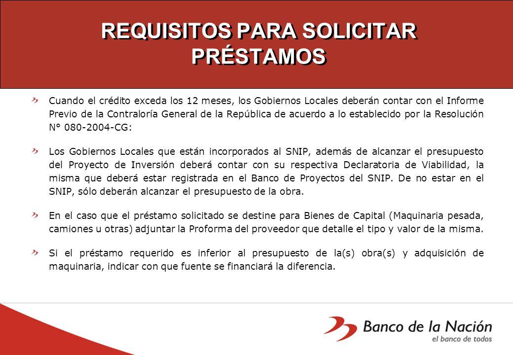 BANCO DE LA NACIÓN APOYANDO AL DESARROLLO LOCAL Y REGIONAL BANCO DE