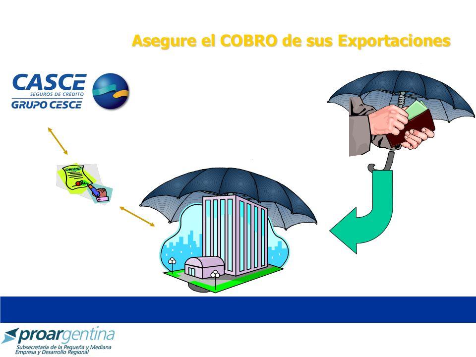 Asegure el COBRO de sus Exportaciones