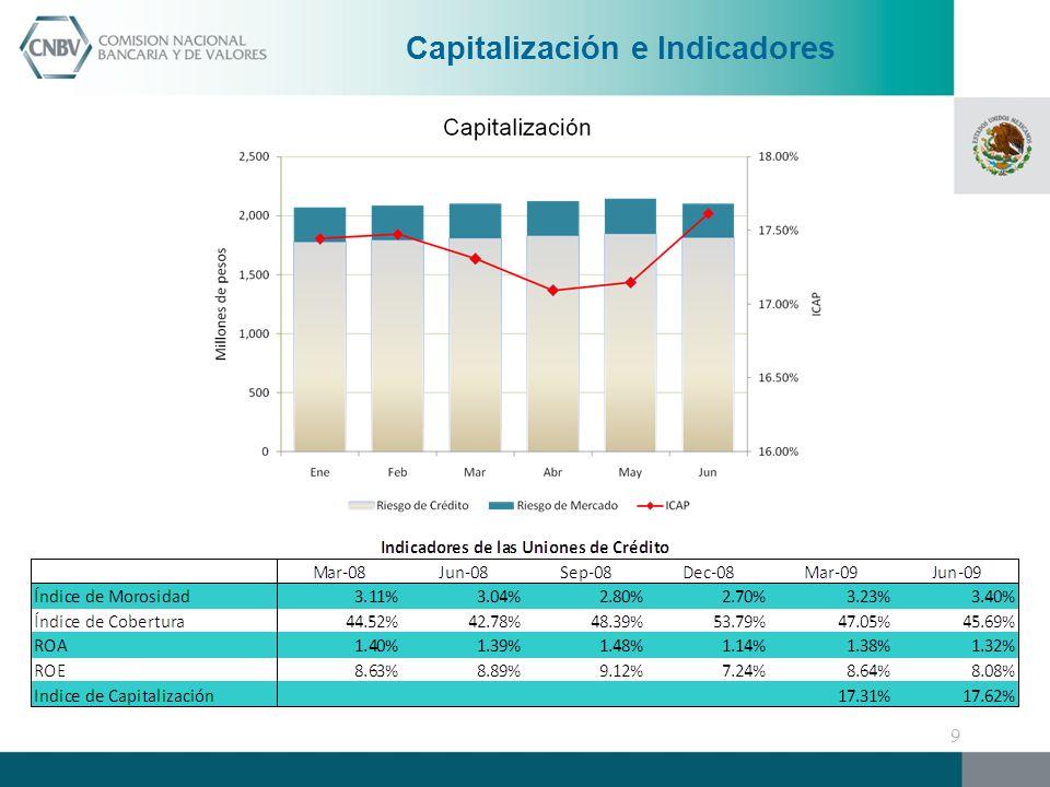 Capitalización e Indicadores 9