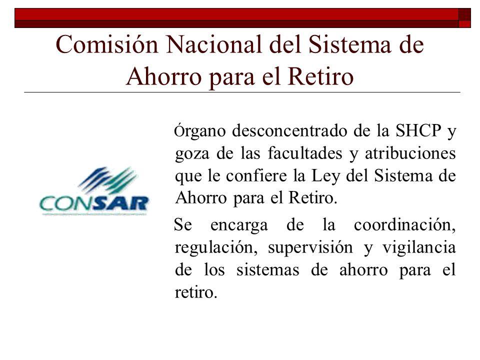 Comisión Nacional de Seguros y Fianzas Órgano desconcentrado de la SHCP y goza de las facultades y atribuciones que le confiere la Ley General de Inst