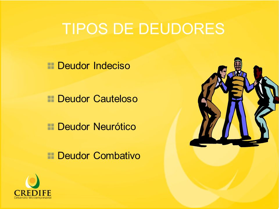 TIPOS DE CLIENTES CLIENTES MUY BUENOS No necesitan requerimiento.