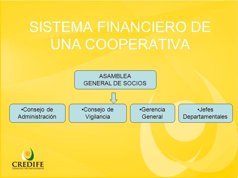 COMO FUNCIONA EL SISTEMA FINANCIERO EN UNA COOPERATIVA