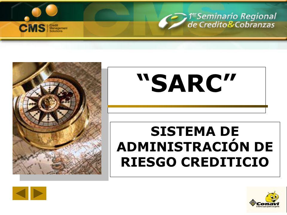 SARC SISTEMA DE ADMINISTRACIÓN DE RIESGO CREDITICIO