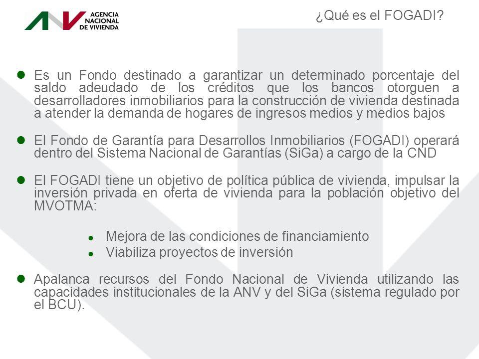 ¿Qué es el FOGADI.