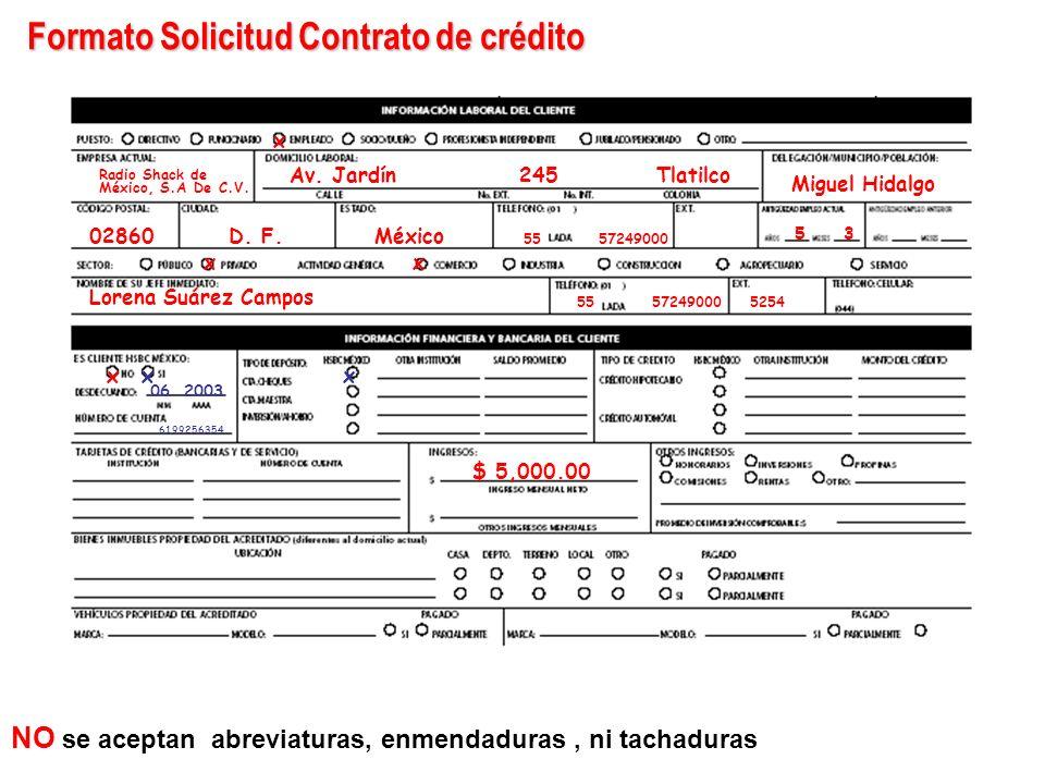 Solicitud Crédito a la Educación Licenciatura REQUISITAR EN SU TOTALIDAD LA SOLICITUD CON TINTA NEGRA O AZUL LLENAR CON LETRA DE MOLDE FIRMAR EN LOS R