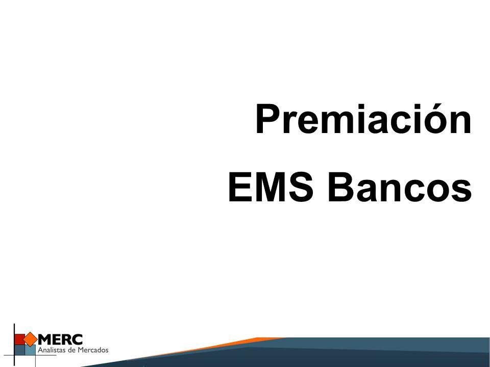 Premiación EMS Bancos