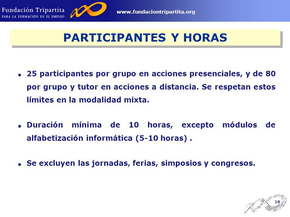 17 www.fundaciontripartita.org MÓDULOS ECONÓMICOS