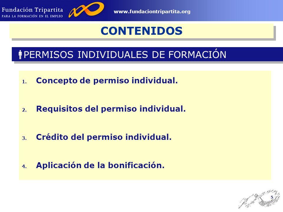 4 www.fundaciontripartita.org CONTENIDOS 1. Módulos económicos.