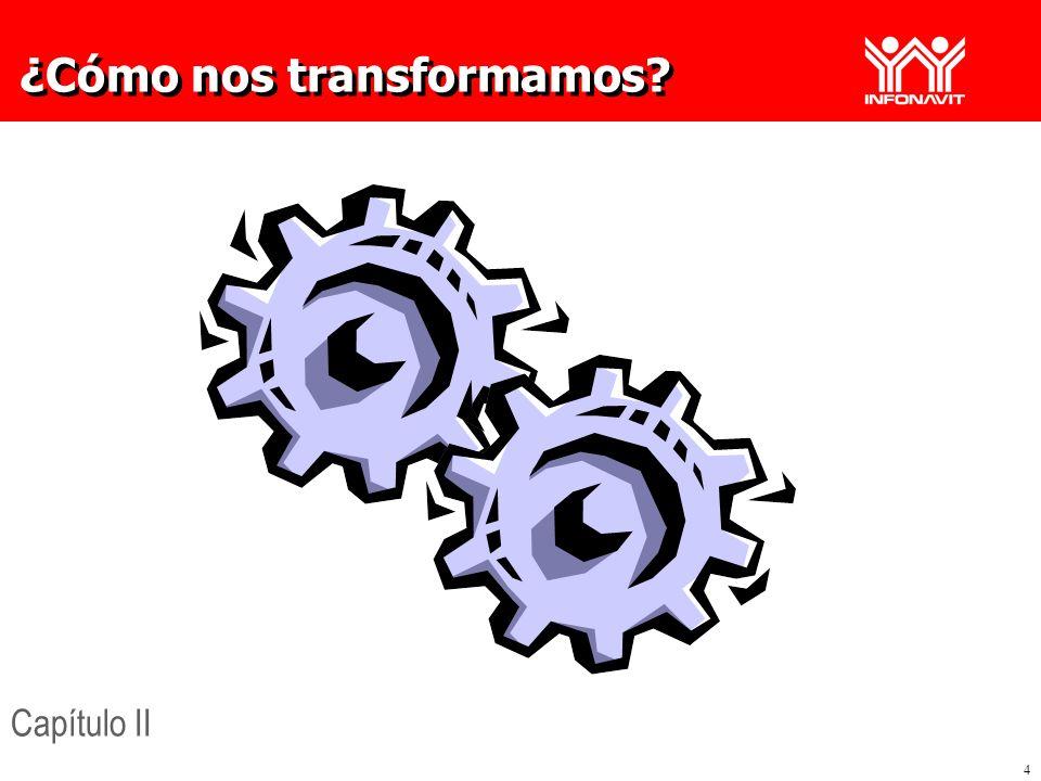 4 ¿Cómo nos transformamos? Capítulo II
