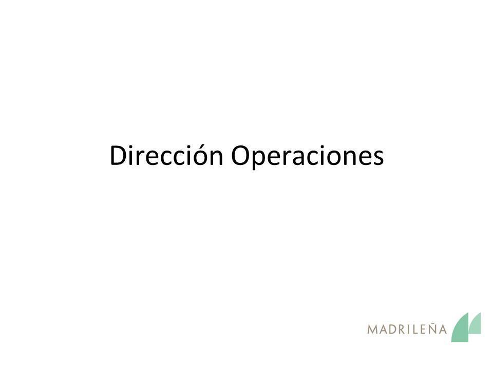Dirección Operaciones