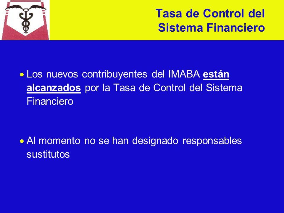 Se modifica el orden de deducción entre el IRIC y la Tasa de Control del Sistema Financiero (art.