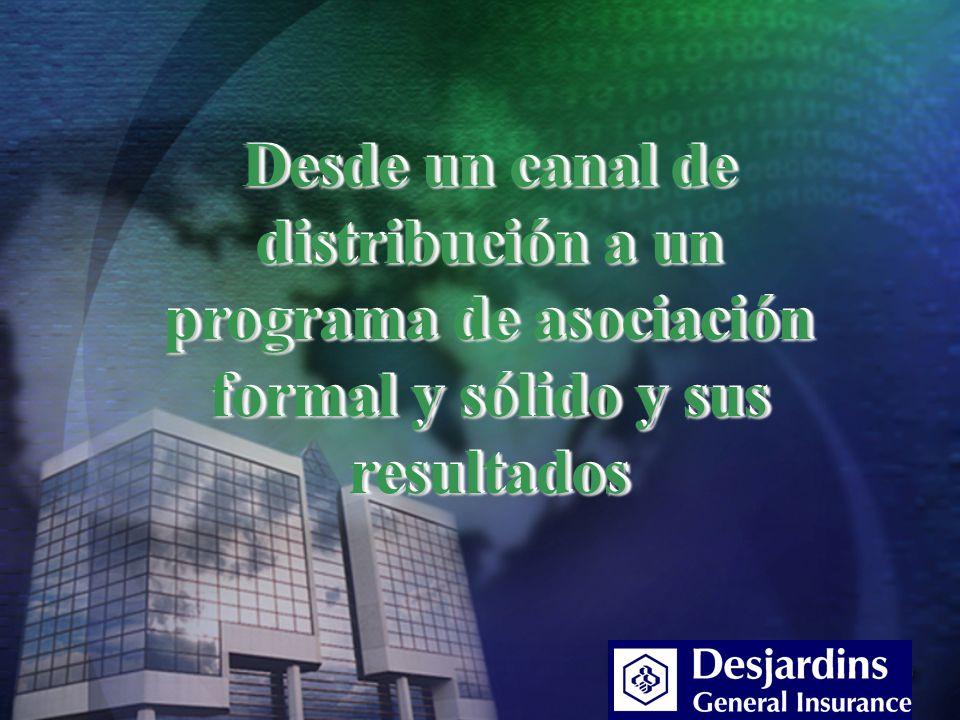 Desde un canal de distribución a un programa de asociación formal y sólido y sus resultados