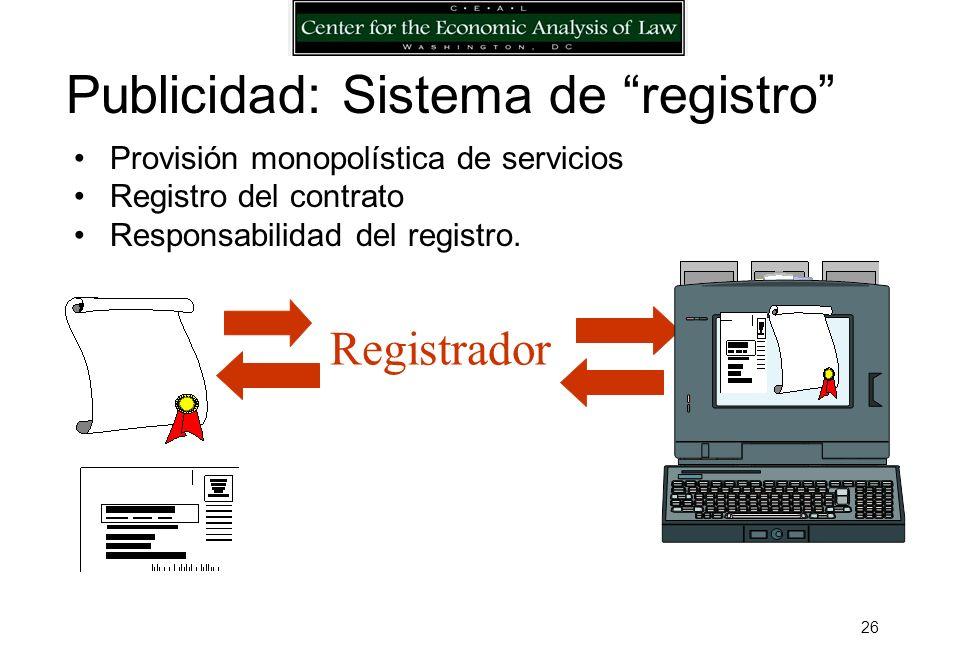 25 Acreedor Originario Banco /instrumento www.archivo.org Prelación: Ejemplo, financiamiento de cuentas por cobrar