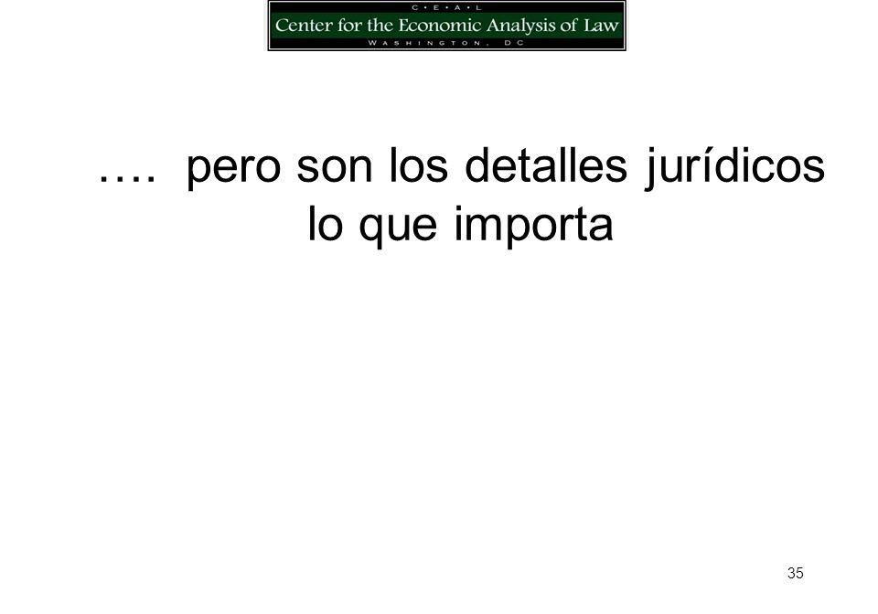 34 Varios Modelos … 1991-2000: Argentina, Bolivia, Guatemala, El Salvador, Honduras, Nicaragua y Ucrania, Anteproyectos de Ley de Garantías Reales Mobiliarias (CEAL y Gobs; apoyo del Banco Mundial y del BID); Rumania y Perú: Leyes de Garantías Reales Mobiliarias (CEAL y Gobs y el apoyo del Banco Mundial y BID) OEA, Modelo de Ley de Garantías Mobiliarias México: Ley de garantías de créditos UNCITRAL: Guía Legislativa para las Garantías Mobiliarias y Convención para el financiamiento de cuentas por cobrar EBRD: Ley Modelo de Garantías Mobiliarias UNIDROIT: Convención Internacional para el Financiamiento de Equipos Móviles Canadá: PPSAs EEUU: Código Comercial Uniforme, Artículo 9 Ecuador: Anteproyecto de Ley de Garantías Reales Mobiliarias y Anteproyecto de Ley de Quiebras (2004 CEAL, Gob., BID) Bolivia: Anteproyecto de Ley de Garantías para Expandir el Crédito, y Anteproyecto de Ley de Información Crediticia (USAID, CEAL, Gob., 2005) BANCO MUNDIAL: Manual de Reforma de las Garantías (Reforming Collateral Laws, CEAL y BM 2006) Francia: Reforma al Código Civil, garantías mobiliarias (2006)