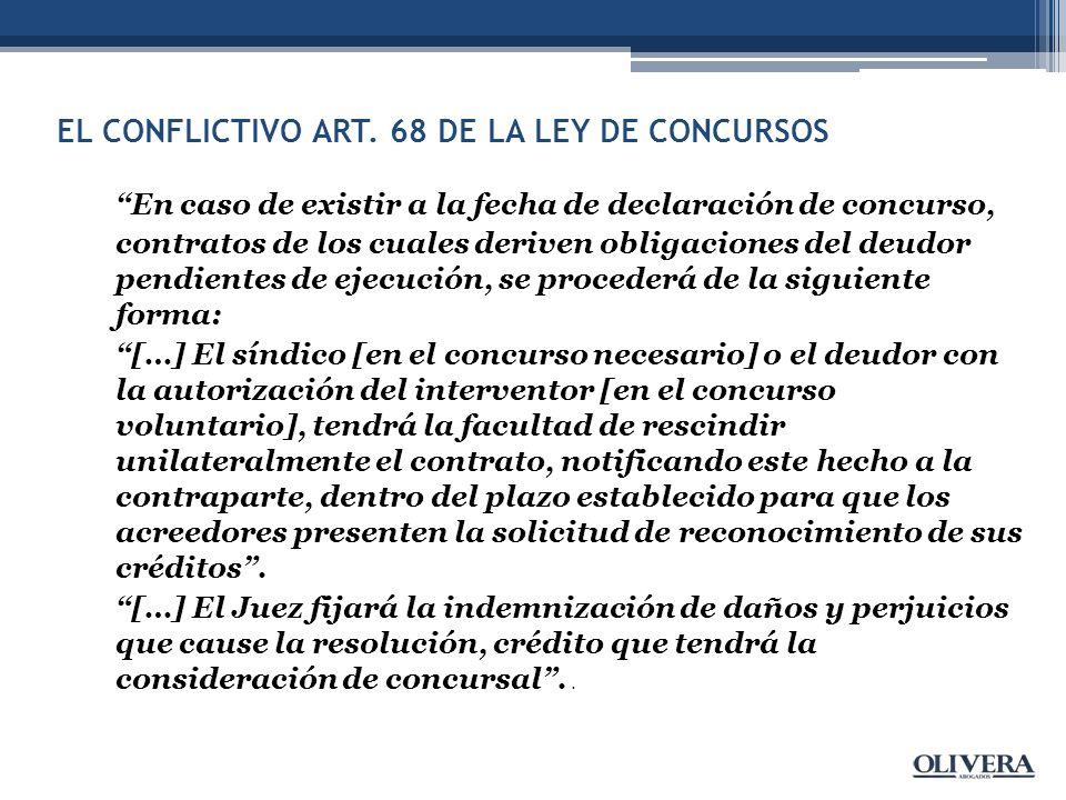 EL CONFLICTIVO ART.
