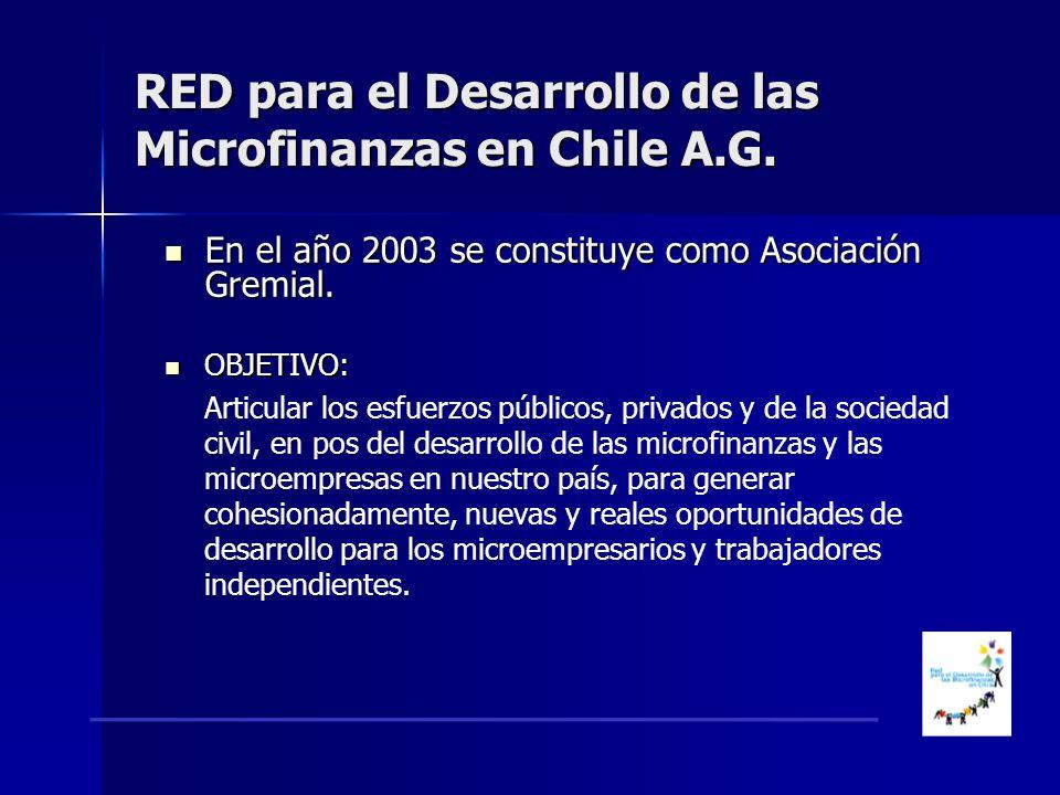 En el año 2003 se constituye como Asociación Gremial.