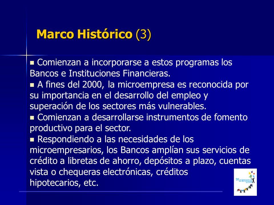Comienzan a incorporarse a estos programas los Bancos e Instituciones Financieras.