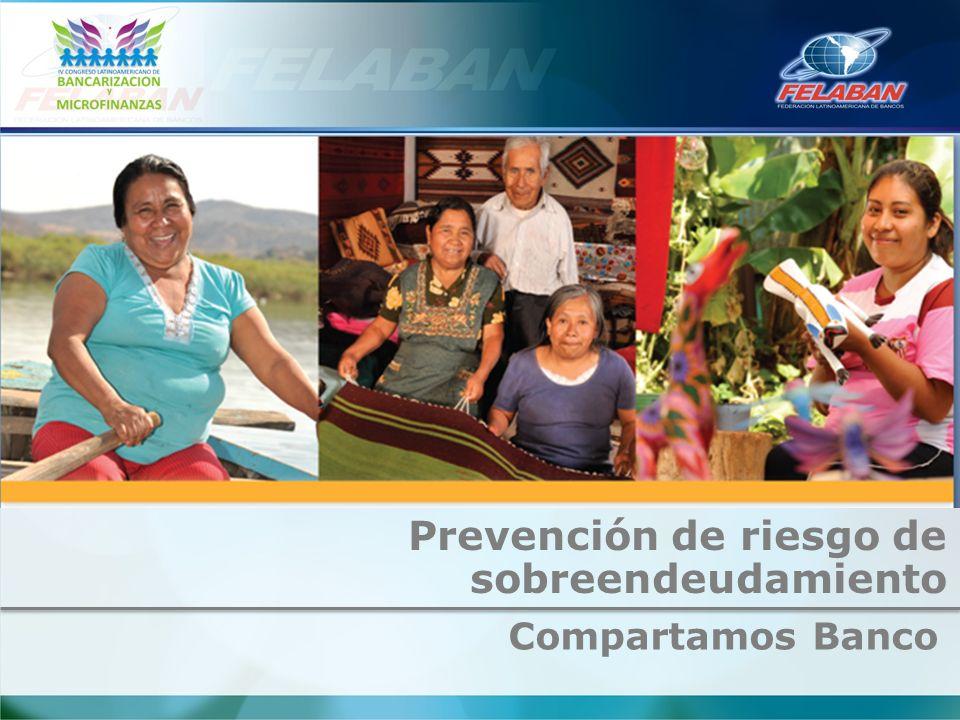 Compartamos Banco Prevención de riesgo de sobreendeudamiento