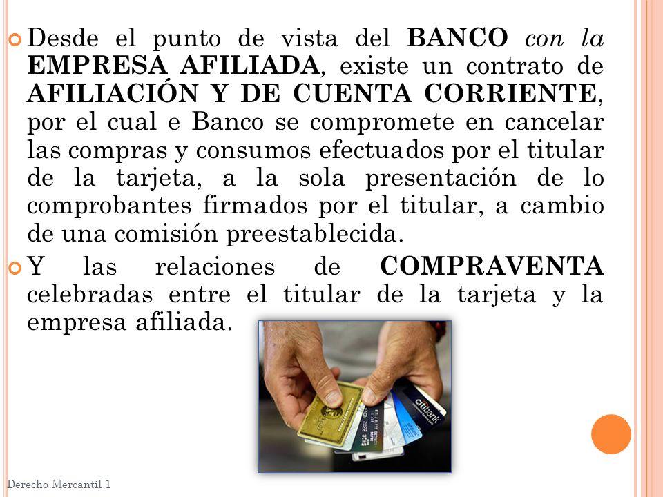 OBLIGACIONES DE LAS PARTES Derecho Mercantil 1 Proveedor de Servicios