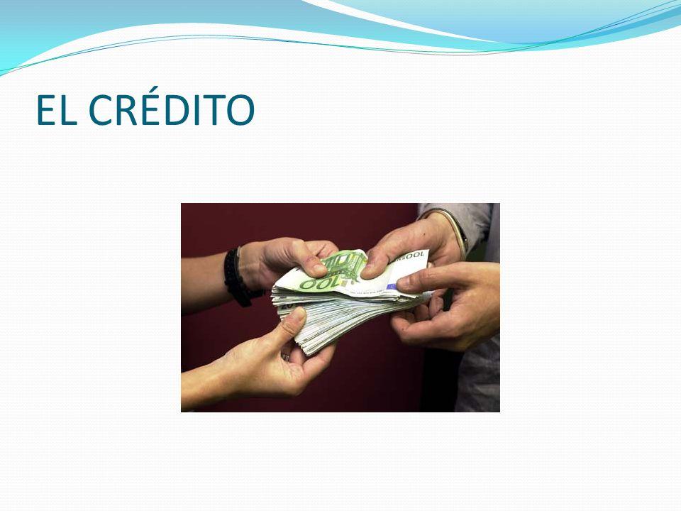 Definición de Crédito Crédito es una operación de confianza realizada entre dos personas y se caracteriza por el hecho de que una de ellas entrega en el acto alguna cosa (dinero, mercaderías, etc.) a cambio de la simple promesa de la otra de que más tarde le será compensada o devuelta.