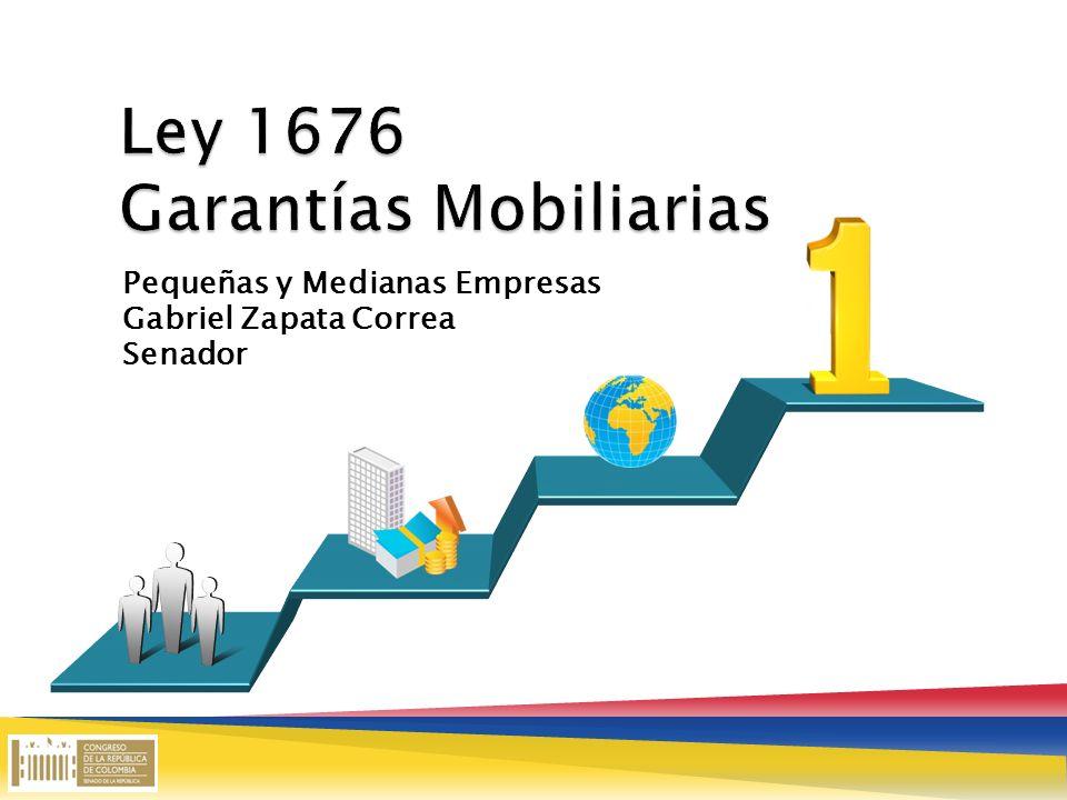 Pequeñas y Medianas Empresas Gabriel Zapata Correa Senador Title in here