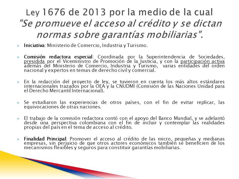 Iniciativa: Ministerio de Comercio, Industria y Turismo.