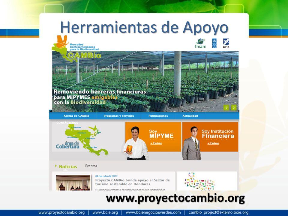 Herramientas de Apoyo www.proyectocambio.org