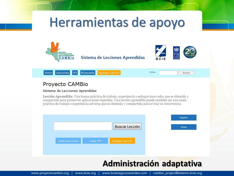 Administración adaptativa