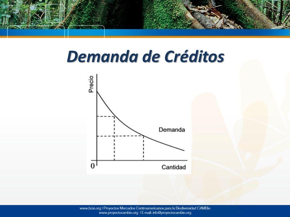 Demanda de Créditos