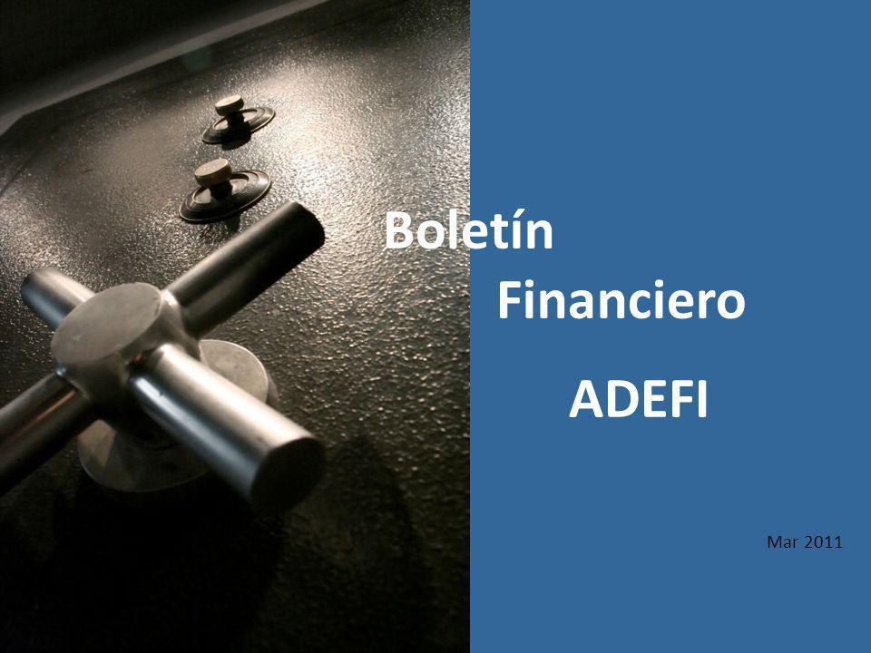 Mar 2011 Boletín Financiero ADEFI
