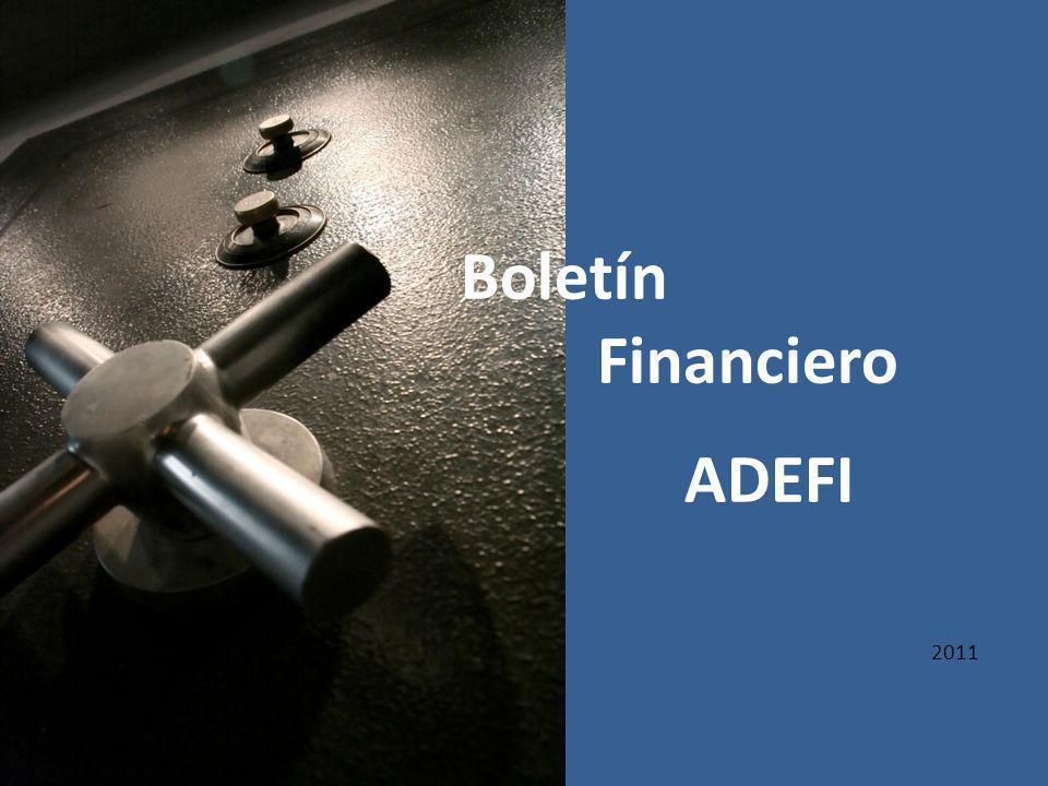 2011 Boletín Financiero ADEFI