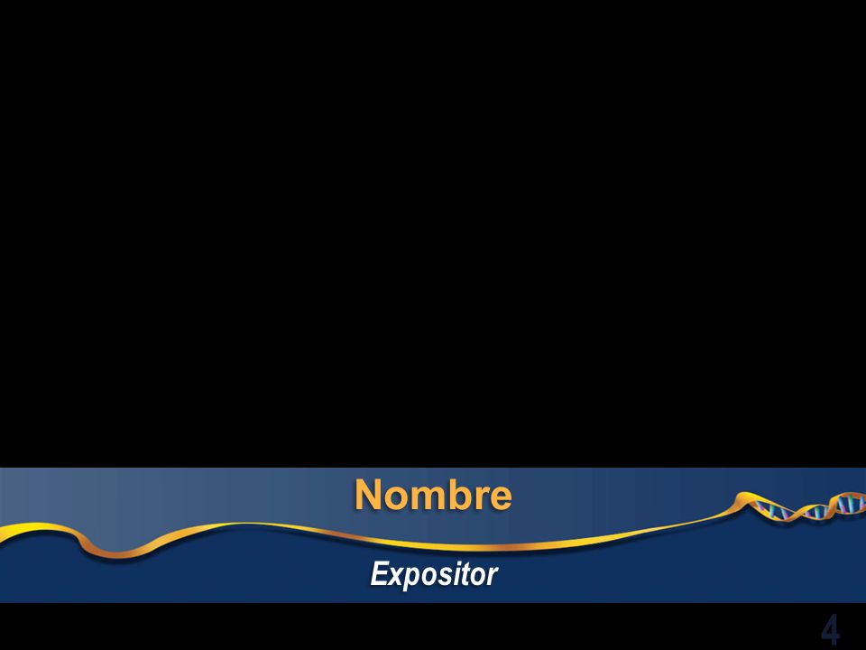 Nombre Expositor 4