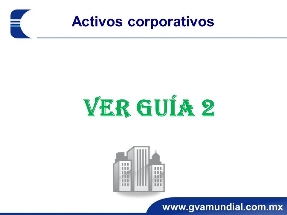Activos corporativos Ver Guía 2