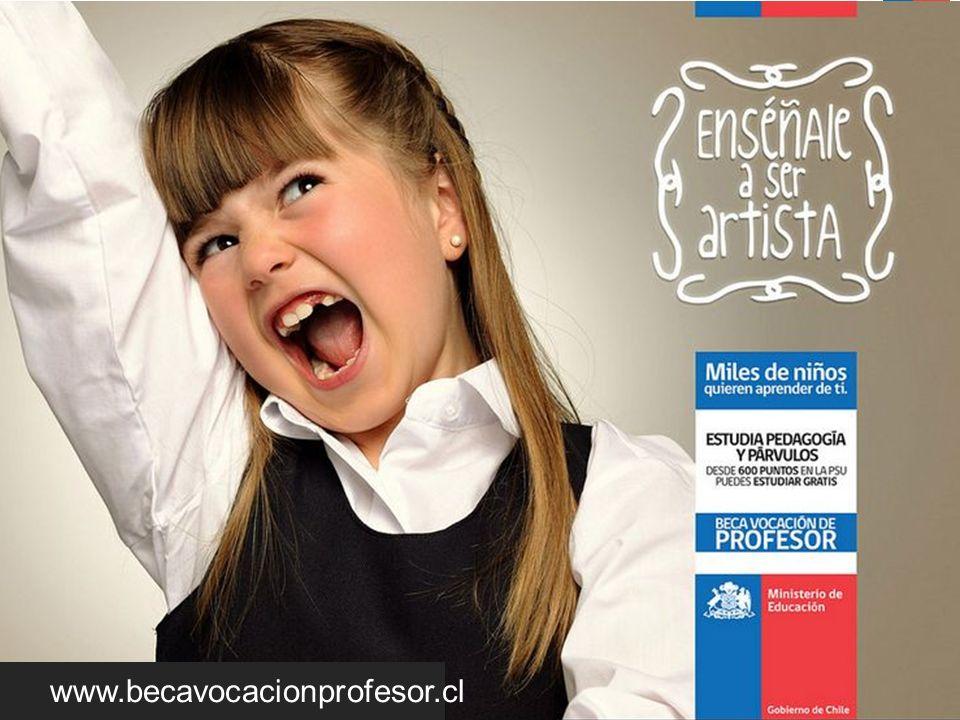 SC Tipos de Becas Sin Condición Socioeconómica BECA VOCACIÓN DE PROFESOR (Pedagogía / Licenciatura) www.becavocacionprofesor.cl