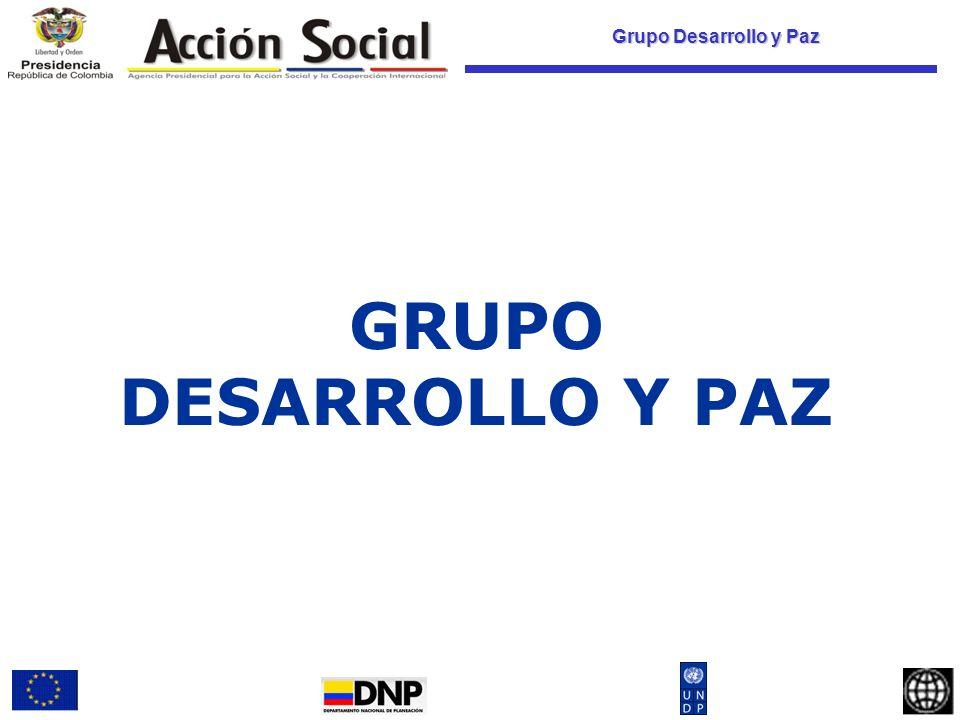 Grupo Desarrollo y Paz GRUPO DESARROLLO Y PAZ Grupo Desarrollo y Paz