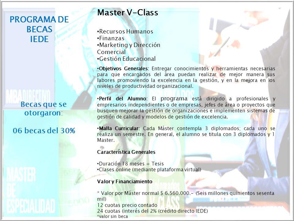 MODALIDAD V CLASS Los Programas V-Class son programas que se imparten en Aulas Virtuales en donde uno puede realizar diversos cursos preparándose para la vida actual globalizada y con cambios acelerados.