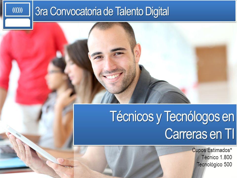 Alta demanda de las profesiones de TI a nivel nacional e internacional.