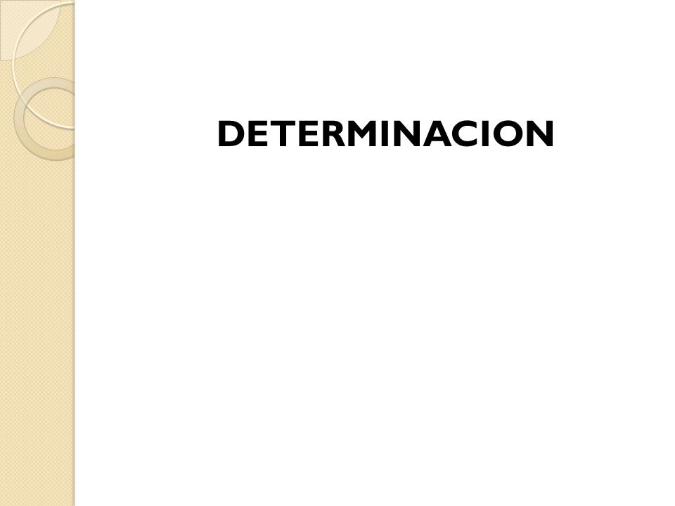 DETERMINACIÓN ACCERTAMENTO ARTICULO 6 C.F.F.