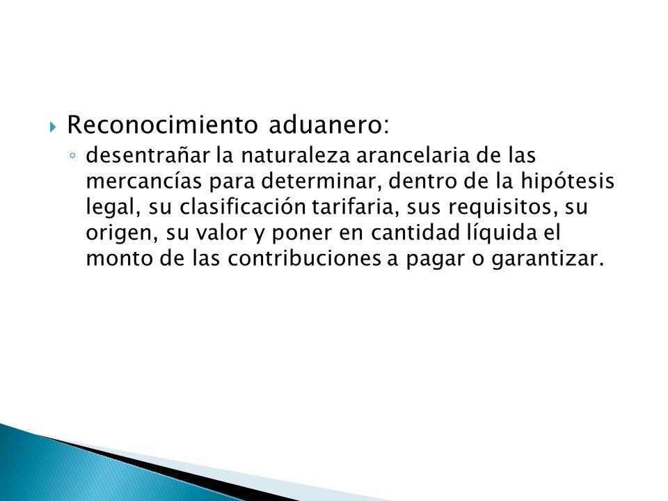 Reconocimiento aduanero: desentrañar la naturaleza arancelaria de las mercancías para determinar, dentro de la hipótesis legal, su clasificación tarif
