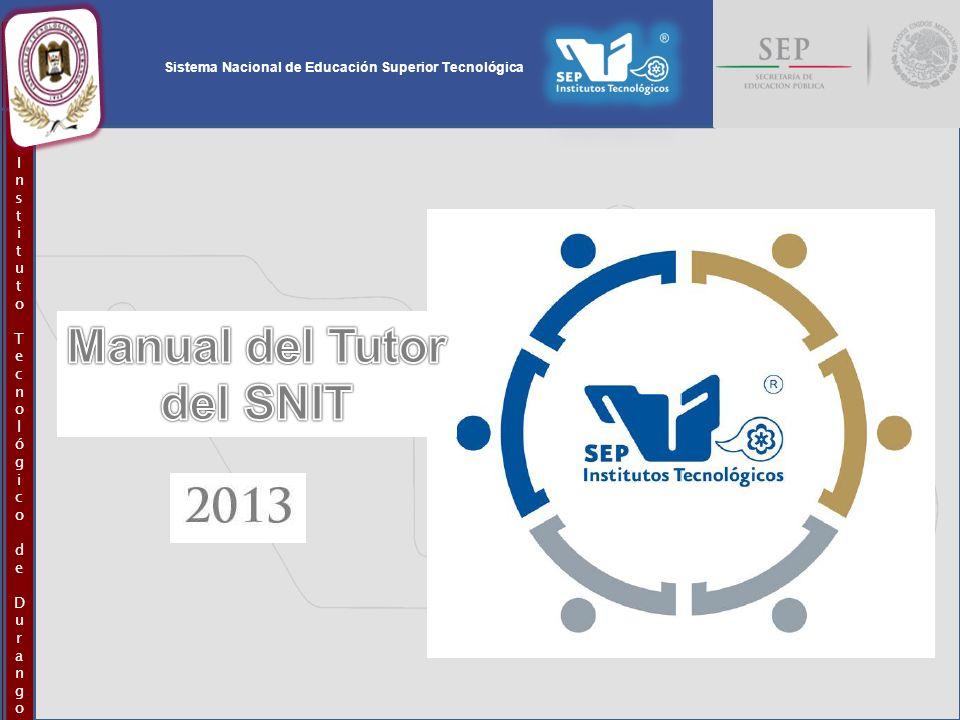 Sistema Nacional de Educación Superior Tecnológica InstitutoTecnológicodeDurangoInstitutoTecnológicodeDurango