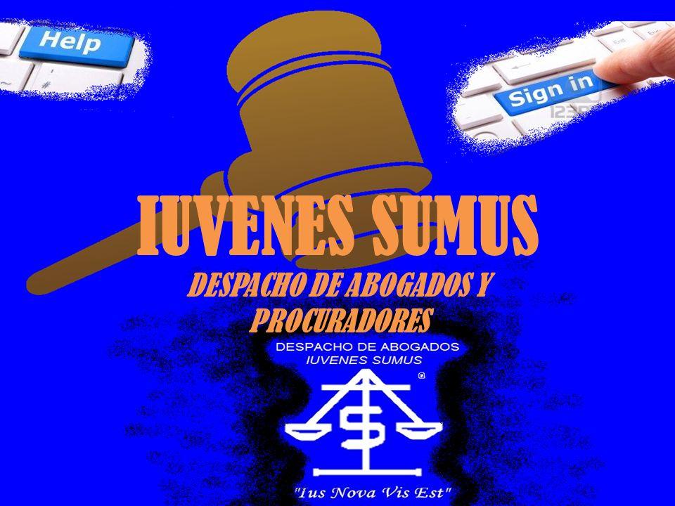 IUVENES SUMUS DESPACHO DE ABOGADOS Y PROCURADORES
