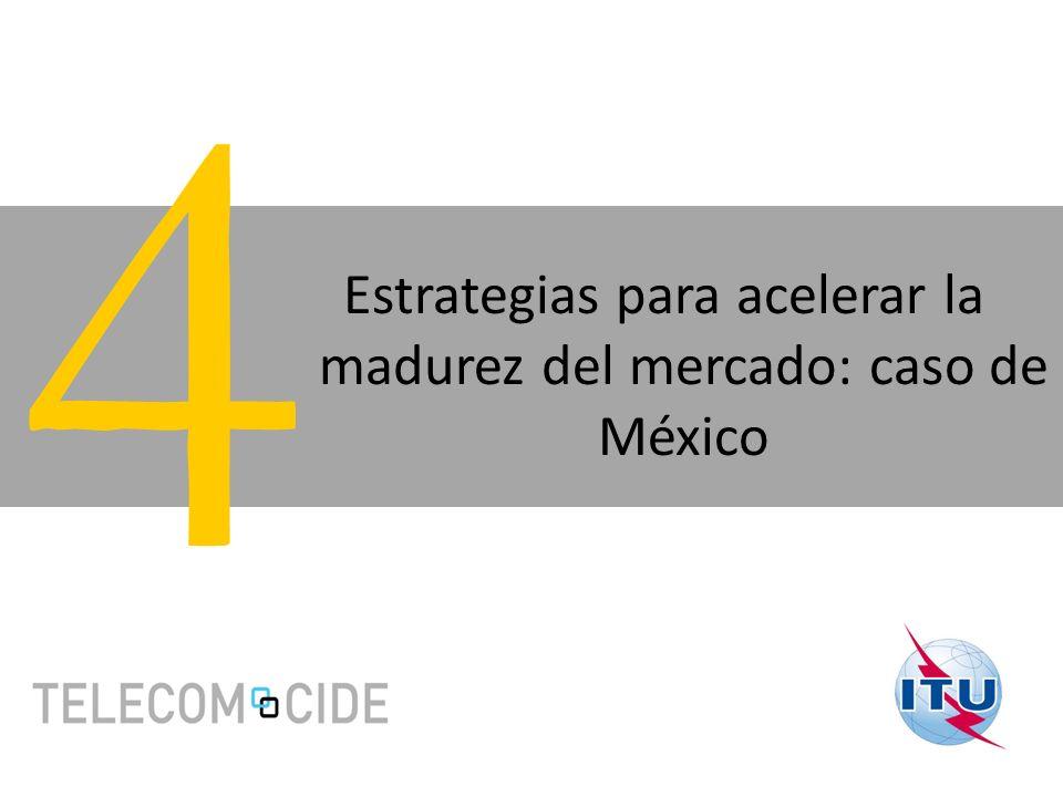 Estrategias para acelerar la madurez del mercado: caso de México 4