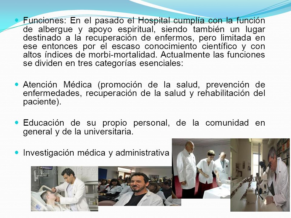 Clasificación Hospitales Federales de Referencia Hospitales Regionales de Alta Especialidad Hospitales Psiquiátricos Primer Nivel Segundo Nivel Tercer Nivel