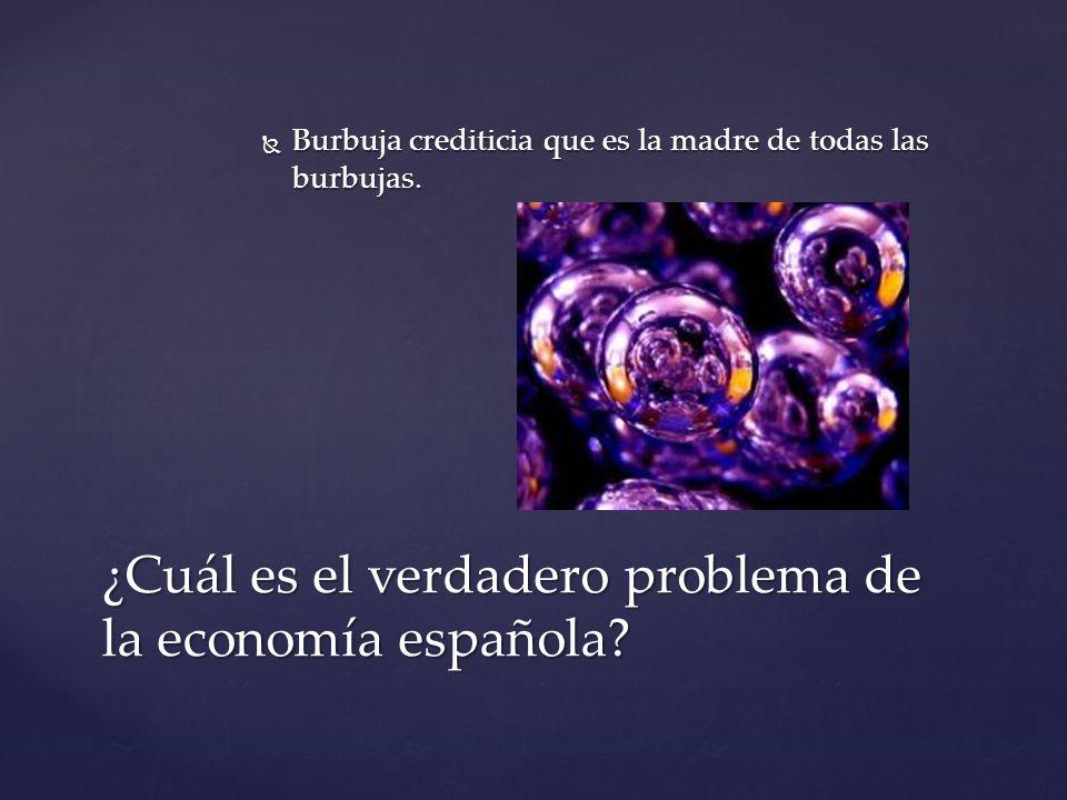 Entre los años 2004 y 2008 España consuma su suicidio económico.