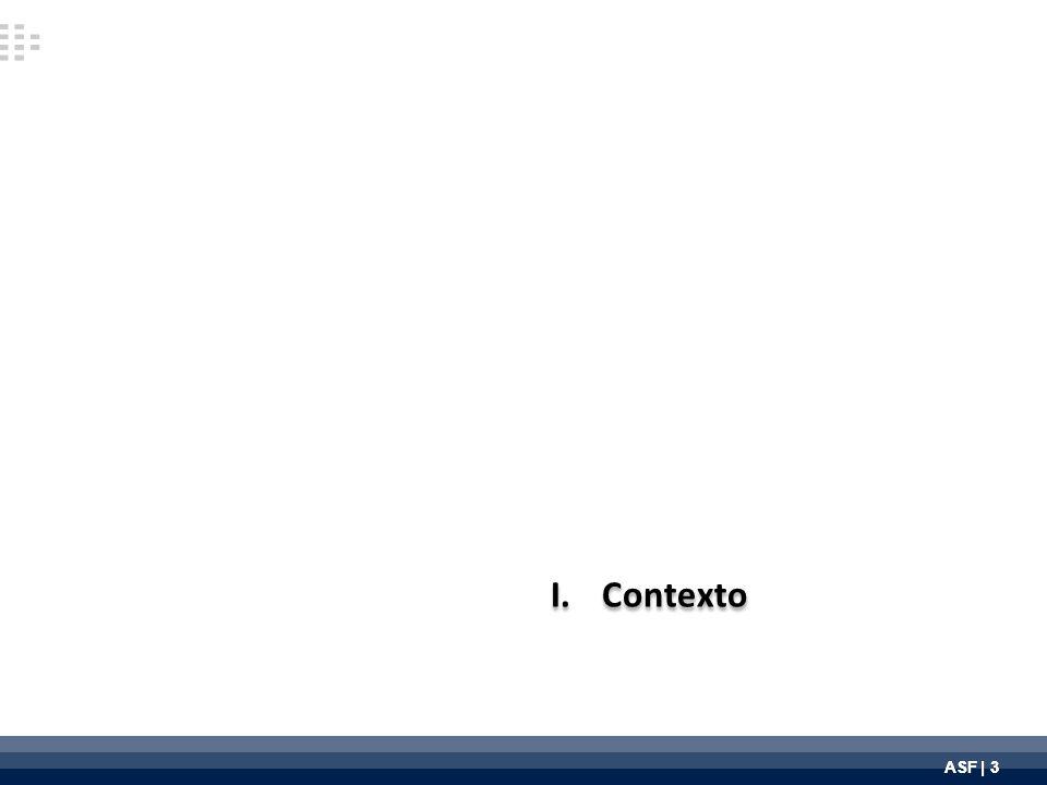 ASF | 3 I.Contexto