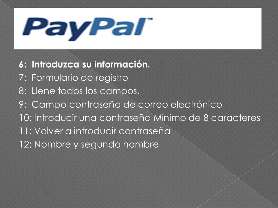 1:Registrarse en PayPal Su país o región Seleccione un país o una región en nuestro caso honduras. 2: Su idioma español 3: Abrir cuenta Sin cargos por