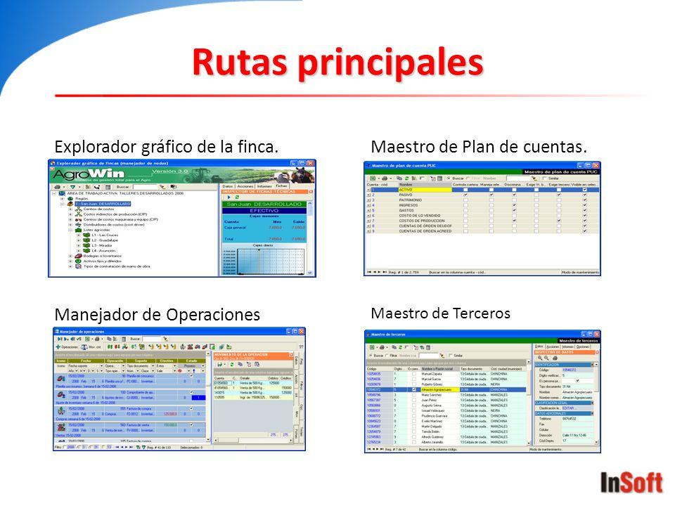 Maestro de plan de cuentas CuentaCC.
