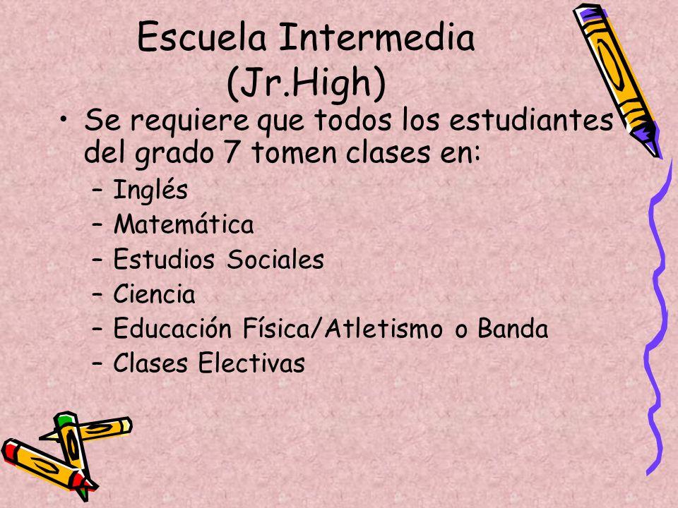 06 de marzo, a las 6:30 de la tarde - Noche de Padres en todas las escuelas intermedias (Junior Highs). 9 de marzo-Todos los estudiantes en el grado 6