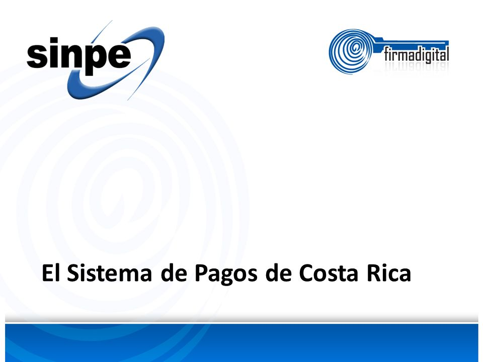 El Sistema de Pagos de Costa Rica