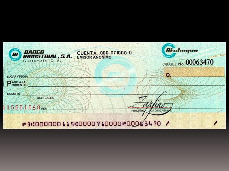 Disposiciones Especiales del Cheque Por regla general el cheque será pagadero a la vista, teniéndose como no escrita cualquier anotación en contrario.